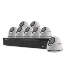 Sistem supraveghere interior basic Acvil B8INT20-5MP, 8 camere, 5 MP, IR 20 m