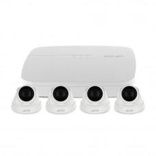 Sistem supraveghere IP interior basic Dahua EZ-IP DH-4INT30-2MP-IP, 2 camere, 2 MP, IR 30 m, 80Mbps
