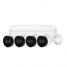 Sistem de supraveghere IP exterior basic Dahua DH-IP-B4EXT30-4MP, 4 camere, 4 MP, IR 30 m