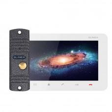 Kit videointerfon Slinex VID-SLI-07-W, 1 familie, aparent, 7 inch
