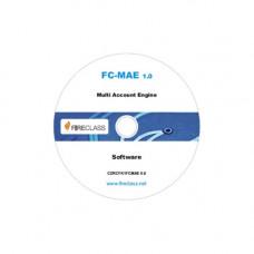 Software de monitorizare FireClass FC-MAE, 32 centrale, criptare AES128