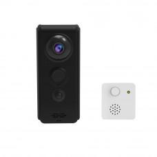 Sonerie video wireless Vstarcam V3, 1 MP, WiFi, IR 3 m
