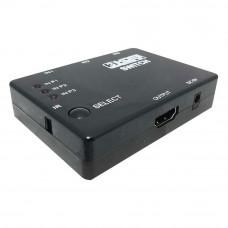 Switch full HD 3HDMI, 3 intrari, 1 iesire, 5 V