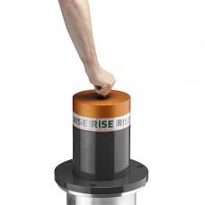 Stalp retractabil cu actionare mecanica RISE RAN500, 200000 J, otel, IP 68