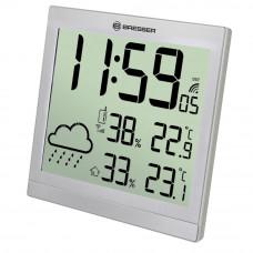 Statie meteo Bresser JC 7004404CM3000, termometru, higrometru, alarma