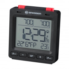 Statie meteo Bresser MyTime Easy II 8010061CM3000, termometru, alarma