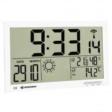 Statie meteo Bresser MyTime Jumbo 7001800GYE000, termometru, higrometru, alarma