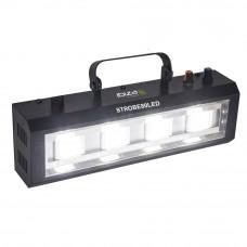 Stroboscop alb 4 LED-uri STROBE80LED