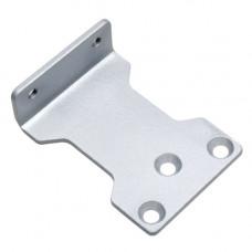 Suport amortizor hidraulic pentru usa PB-03, otel, argintiu