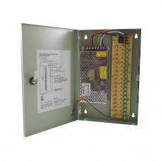 Sursa de alimentare SMPS 12V 15A-18C, 18 canale, 15 A