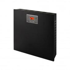 Sursa de tensiune 27,6 V DC/5 A Pulsar PSBEN5024C, 2 x 17 Ah/12 V, carcasa metalica
