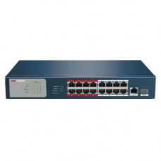 HIKVISION DS-3E0318P-E/M 200m EXTENDED POE switch +1SFP