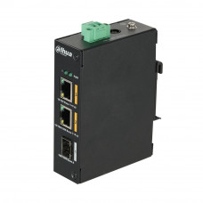 Switch cu 2 porturi PoE Dahua PFS3103-1GT1ET-60