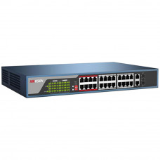 Switch PoE cu 26 de porturi HIKVISION DS-3E0326P-E EXTENDED POE SWITCH, cu management, 4000 MAC