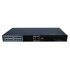 Switch profesional PoE++ cu management UTP7216E-POE-L2, 16 porturi, 10/100/1000 Mbps