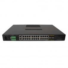 Switch industrial UTP7624GE-IE, 24 porturi, 128Gbps, 4K