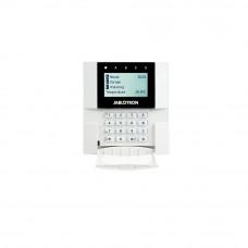 Tastatura LCD adresabila JABLOTRON 100+ JA-110E, comunicare/alimentare pe bus, cititor RFID, 4 butoane functionale