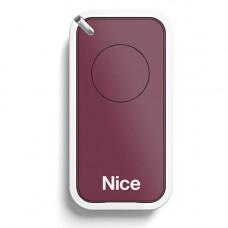 Telecomanda Nice INTI1R, 1 canal, 433.92 MHz, rosu
