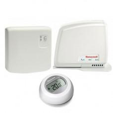 Termostat wireless cu modul de internete Honeywell Y87RFC2074, 30 m, 868 MHz, TPI