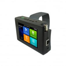 Tester CCTV profesional de mana T-1800ADH+, ecran tactil 4 inch, 4k, 1 canal
