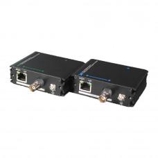 Transmitator retea PoE UTP7301EPOC, alimentare prin cablu coaxial,