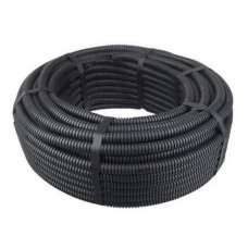 Tub flexibil 20 mm, culoare neagra, 100 m