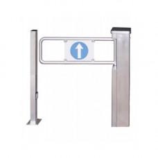 Turnichet electromecanic ROSSLARE VIP-CSG90, bidirectional, inox, 220 V