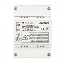 Unitate centrala de alimentare audio Electra SCU.ADN02.ELW, 230 V, 14 V