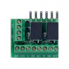 Unitate de control incuietori CDVI Centaur CA-A110-P, 2 intrari, 2 relee, indicator LED