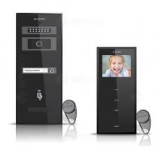 Set videointerfon Electra Smart VID-ELEC-19, 1 familie, aparent, 3.5 inch