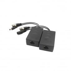 Video balun pasiv HDCVI/TVI/AHD/CVBS Dahua PFM801-4MP, pret/pereche