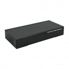 Video balun UTP104P pasiv, 4 canale, cablu UTP, >60db