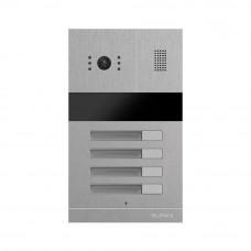Videointerfon de exterior RFID Slinex MA-04, 248 utilizatori, 4 familii, 1 MP