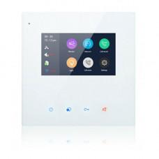 Videointerfon de interior DX439-TD4, aparent, touchscreen, 4.3 inch
