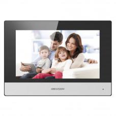 Videointerfon de interior HIKVISION DS-KH6320-WTE1, 7 inch, 128 MB, aparent