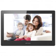 Videointerfon de interior Wi-Fi Hikvision DS-KH8520-WTE1, 10 inch, 128 MB, 12 V/PoE