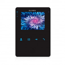 Videointerfon de interior Slinex MS-04-B, 4 inch, aparent, 100-240 V