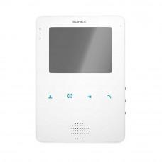 Videointerfon de interior Slinex MS-04-W, 4 inch, aparent, 100-240 V