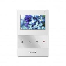 Videointerfon de interior Slinex SQ-04-W, aparent, 4.3 inch, 100-240 V