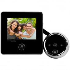Vizor digital cu sonerie SF DD2, LCD, IR, 0.3 MP