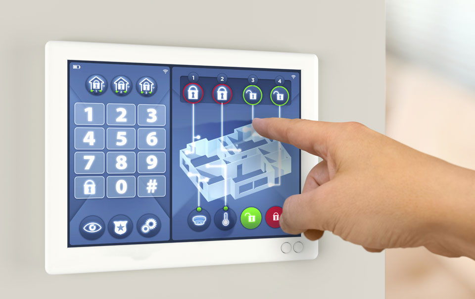 sistem alarma inteligent