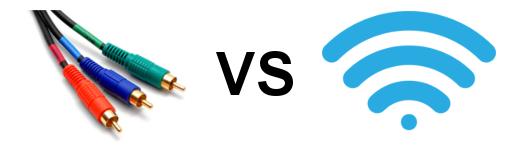 cablu vs wireless
