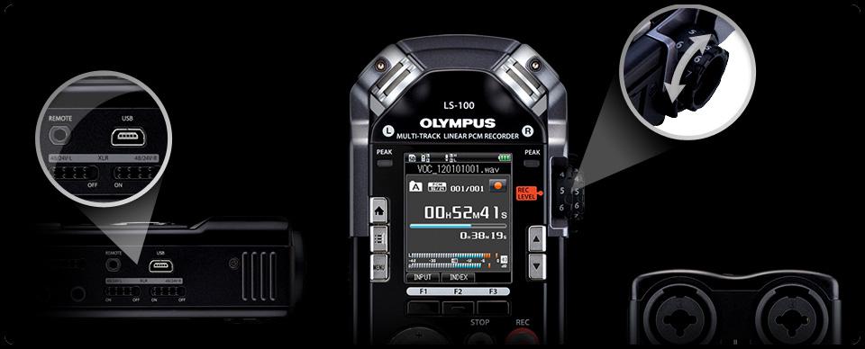 Reportofon digital Olympus LS-100 Multi-Track