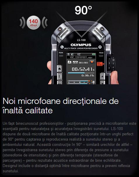 Reportofon digital Olympus LS-100 Multi-Track v409121be000