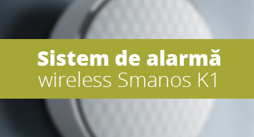 Sistem de alarma wireless Smanos K1